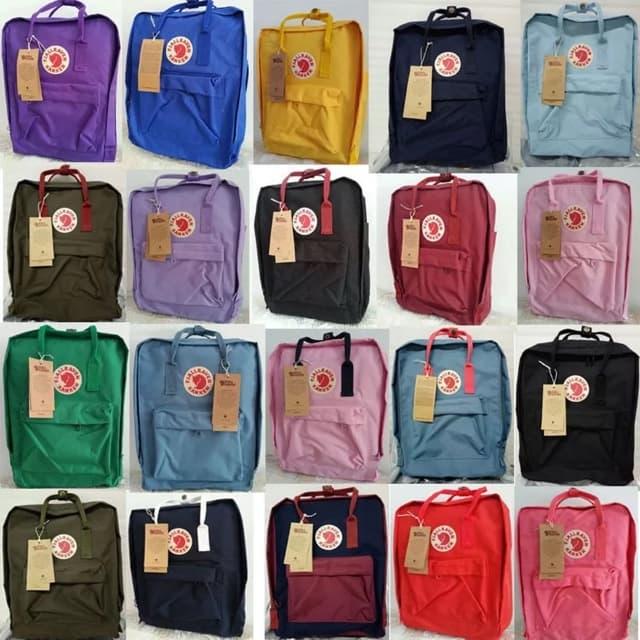 Fjallraven Kanken Backpack Colors