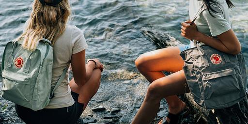 Fjallraven Kanken Waterproof Backpack For Travel Time